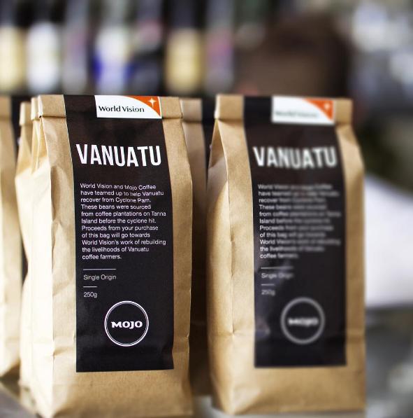 Vanuatu + World Vision Packaging