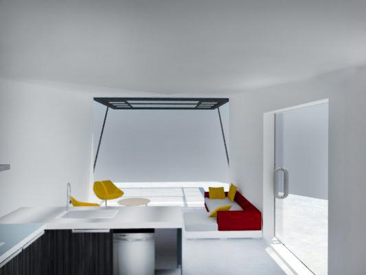 interior with colour copy